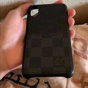 Louis Vuitton iPhone X / Xs case